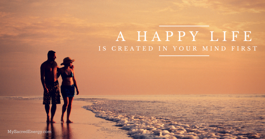 a positive happy life